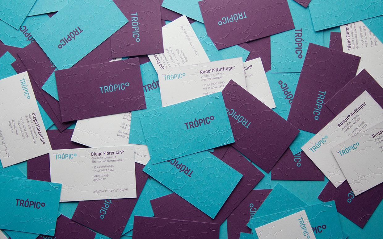 音像制作公司Trópico品牌形象设计