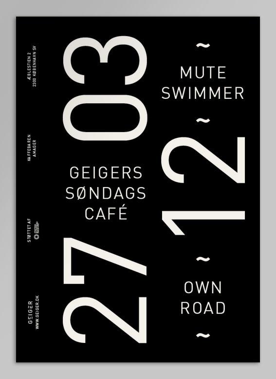 Geiger杂志版面设计