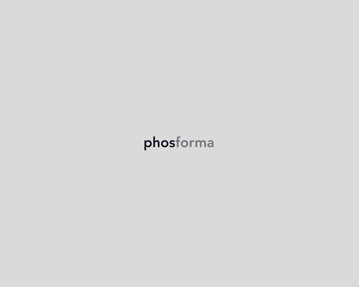 照明品牌Phosfroma极简风格VI设计