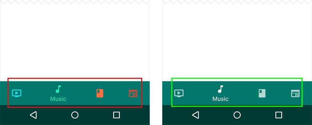 移动端用户体验:底部导航