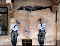 法國街頭藝術家Levalet創意