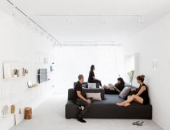 特拉维夫黑白极简公寓设计