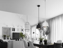 5个简约北欧风公寓设计
