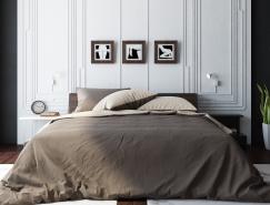 18个放松舒适的浅白色卧室设