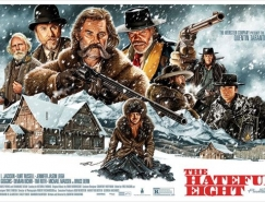八惡人(The Hateful Eight)電影海報設計