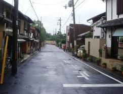 Photoshop制作清新的淡青色日系街道图片