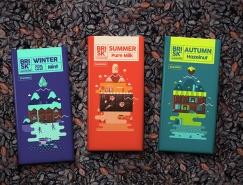 50個精美的巧克力包裝設計