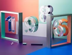 Rafael Merino创意3D文字设计