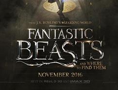 电影海报欣赏:神奇动物在哪里