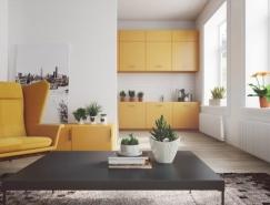 4个简约北欧风家居装修设计