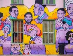 Damien Tachoires街头壁画艺术欣赏