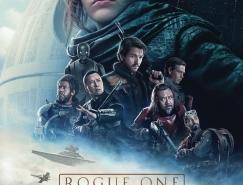 電影海報欣賞:俠盜一號:星球大戰外傳Rogue O