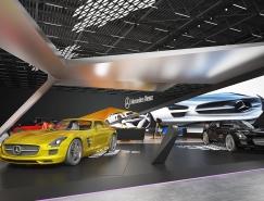 動感的梅賽德斯-奔馳展台設計
