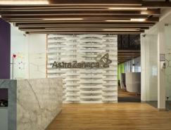 制药公司AstraZeneca墨西哥办公室空间设计