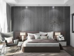 42个安静放松的灰色系卧室设计