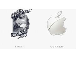 50個著名品牌logo的今昔對比