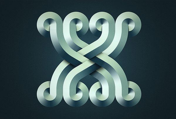 Mario创意立体字母和数字设计欣赏