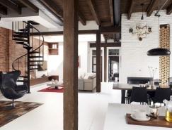 加拿大Vieux-Montréal工业风格Loft住宅设计