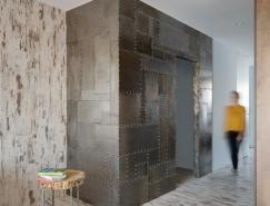 基辅极简主义风格单身公寓