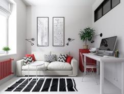 3个精致的一居室小公寓设计