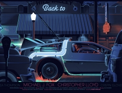 Laurent Durieux复古未来风格插画海报设计