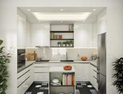 50个北欧风格现代厨房设计