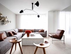 哥本哈根精致的极简风格公寓设计