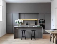 40个华丽沉稳的灰色厨房设计