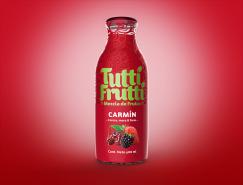 Tutti Frutti果汁飲料包裝設計