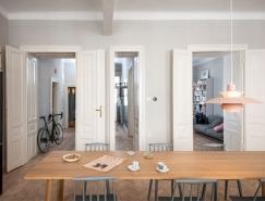 维也纳自由明快的现代公寓设计