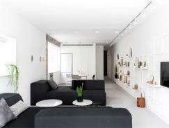 特拉维夫极简风格公寓设计