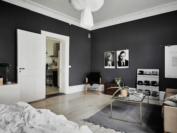 黑白本色北欧风家居装修设计