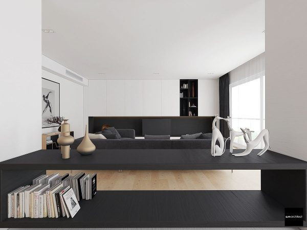 极简豪华的现代家居装修欣赏 - 设计之家