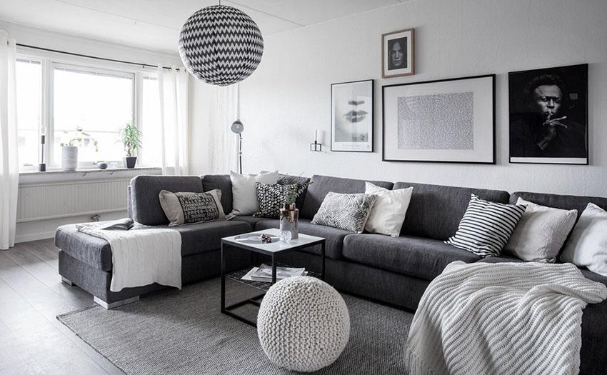 43个北欧风格客厅装修设计