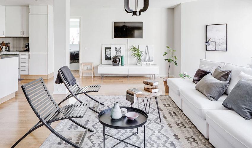 43個北歐風格客廳裝修設計(2)