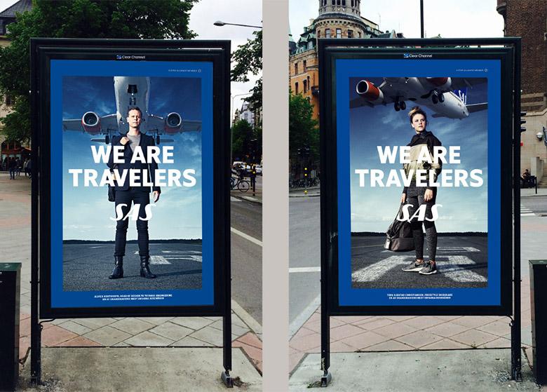 北欧航空(Scandinavian Airlines)品牌形象升级
