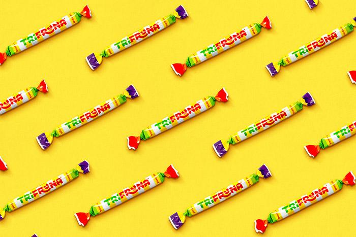 Fruna糖果品牌和包装设计
