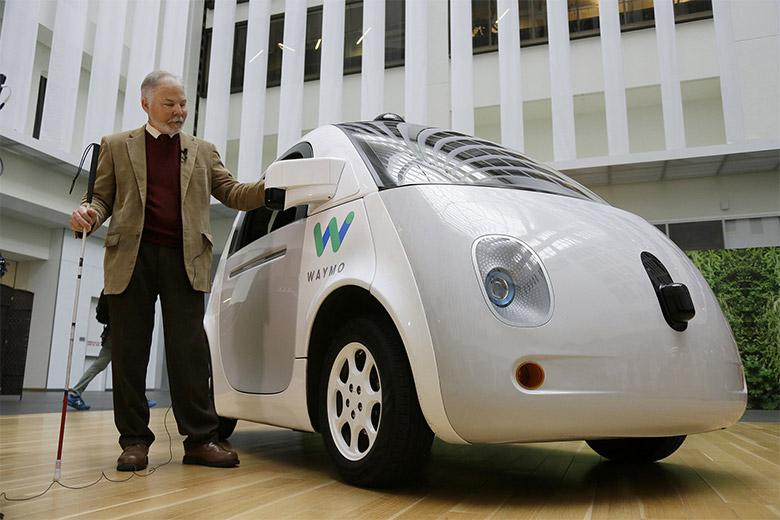 Google自动驾驶汽车命为Waymo发布新LOGO