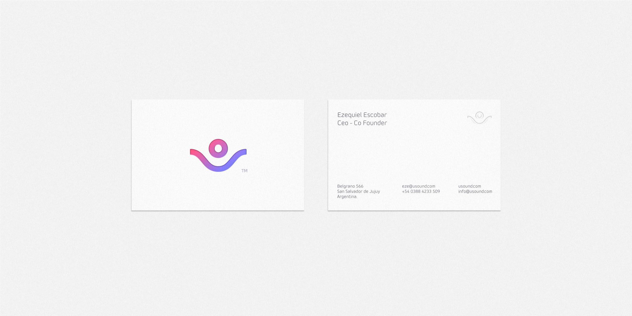 uSound品牌视觉形象设计