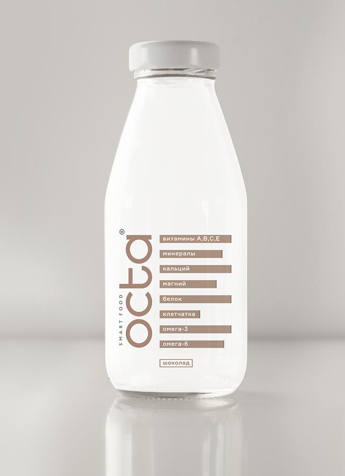 Octa功能性飲料包裝設計