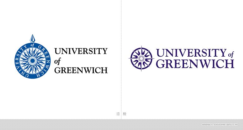 格林尼治大学(University of Greenwich)启用新LOGO