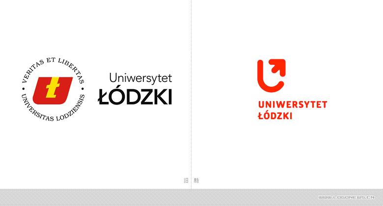 罗兹大学(University of Lodz)即将启用全新LOGO