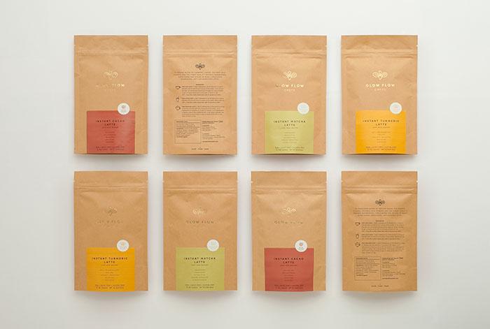 Glow Flow Chefs咖啡包裝設計
