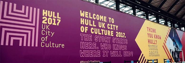 """2017赫尔""""英国文化之城""""视觉形象设计"""