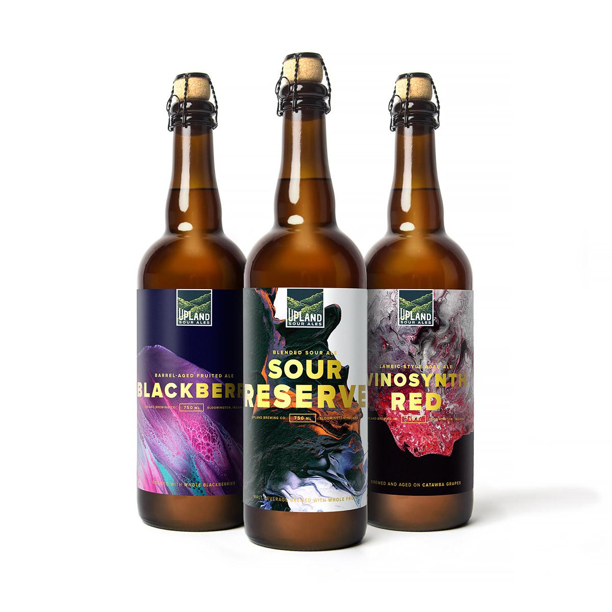 Upland Sour Ales創意啤酒包裝設計