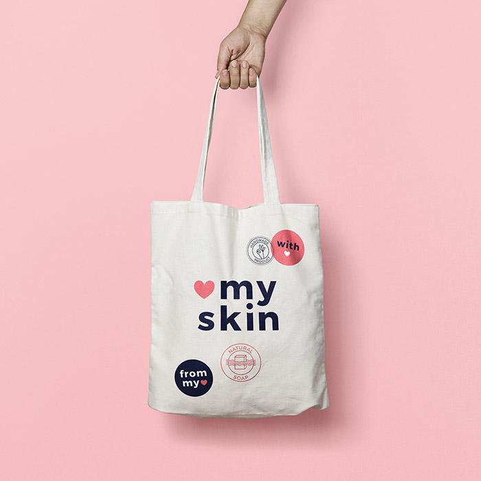 Myskin香皂品牌視覺形象設計
