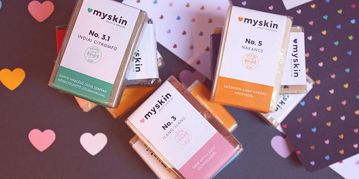 Myskin香皂品牌视觉形象设计