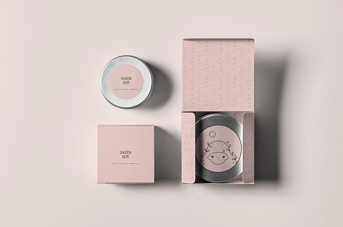 SHIZEN化妝品包裝設計