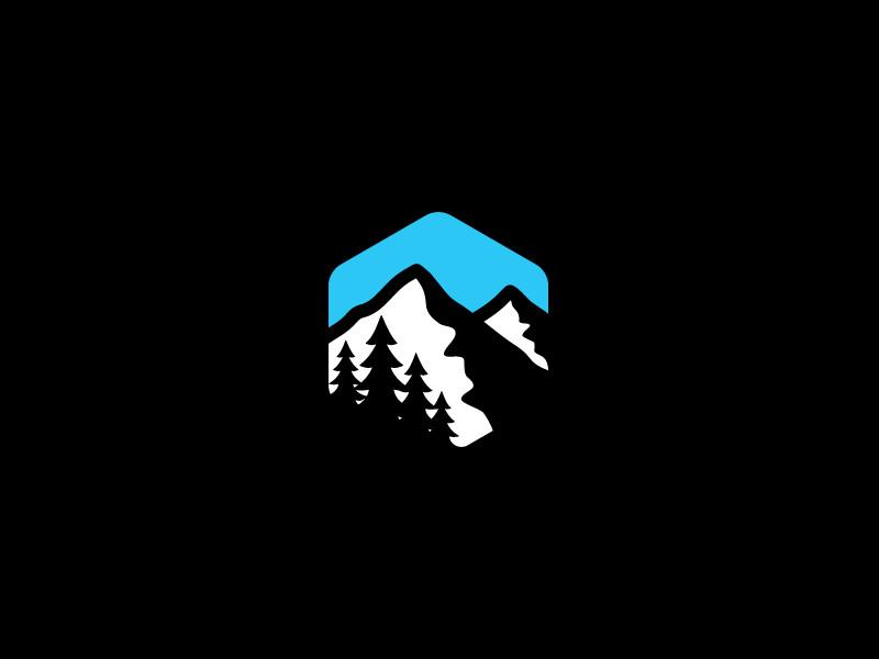 標誌設計元素應用實例:山