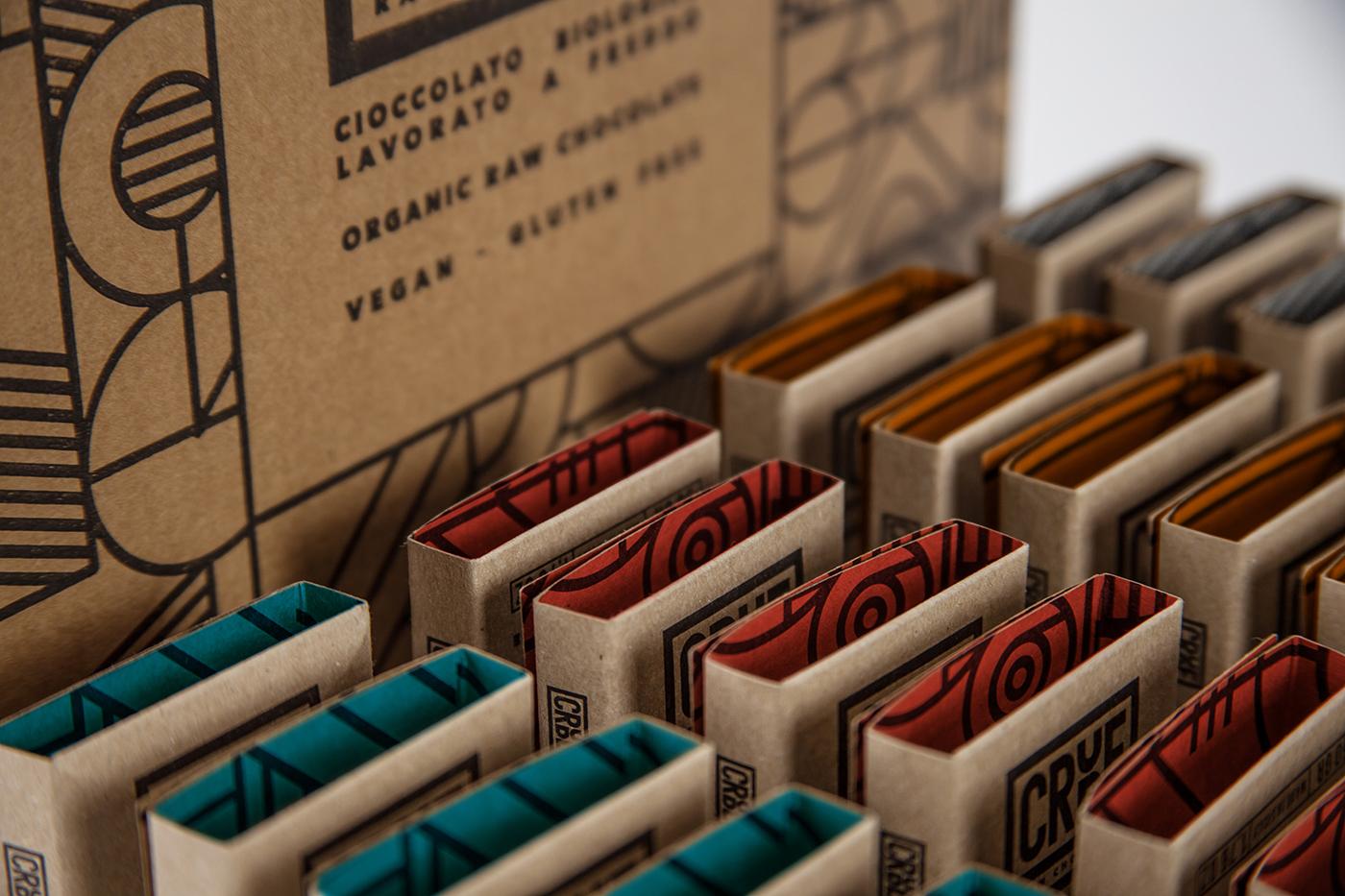 crude巧克力包裝設計
